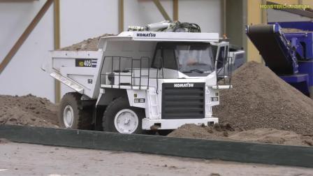 RC遥控斯堪尼亚小松卡车拖拉机