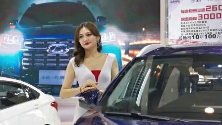 车展模特随拍(手机视频)