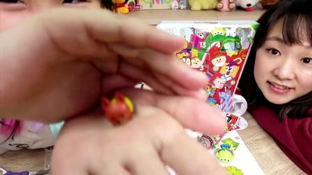 【玩具】Tsum Tsum圣诞倒数抽抽乐超长雪橇Ft.Yuma, Ryu[NyoNyoTV妞妞TV玩具]