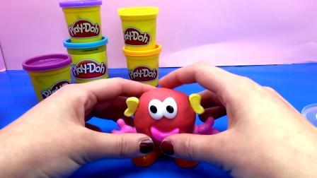 Knetix 德国儿童彩泥套装 手工 自制神奇小动物 玩具组 组装  展示