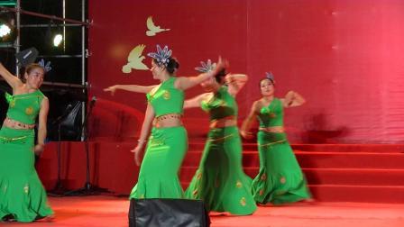 舞蹈--月光下的凤尾竹:(攀枝花市仁和区仁和镇土城社区)