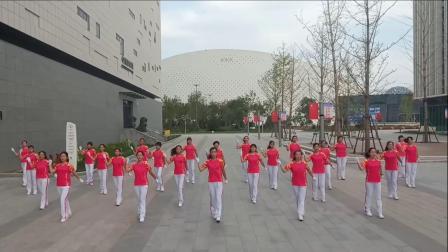 山东淄博梦之队支队演绎中国梦之队快乐之舞第十六套健身操 操之律 舞之韵 梦飞翔