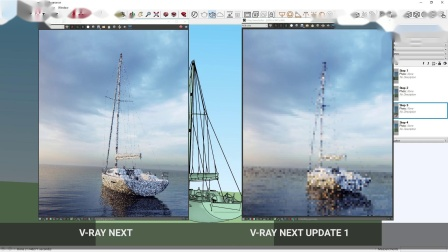 V-Ray NEXT for Sketchup Update 1