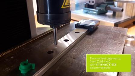 IMPACT-泰尼福电磁式打标机打2mm二维码