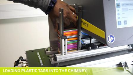 泰尼福IMPACT+PFD-自动打标塑料铭牌