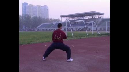 陈式太极拳一路练习2004.11