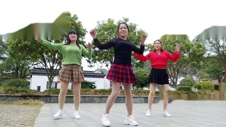 九江美美广场舞  集体版 情火