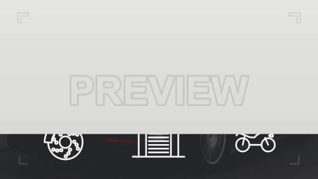 67个汽车交通Icons线条图标动画视频素材