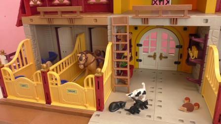 摩比游戏  乡村生活系列 巨型 马场 欢乐 农场 套装 玩具组 组装 展示