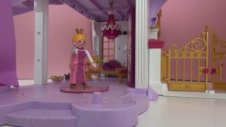 摩比游戏  炫酷 巨型 梦幻 爱心 粉色 公主 城堡 宫殿 套装 开箱 组装 展示