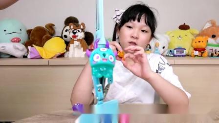 【玩具】可爱超萌卡通锁,扣扣宝贝[NyoNyoTV妞妞TV玩具]