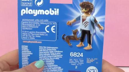 摩比游戏 Werwolf 炫酷 cool 狼人 狗 狼 玩偶 人偶 公仔 套装  开箱 展示