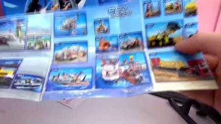 摩比游戏 城市生活系列 超级炫酷 警用 直升机 开箱 展示(1)
