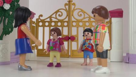 摩比游戏 电影 克丽丝 庆祝 生日派对 粉色 梦幻 玫瑰 花园 公主 城堡 展示