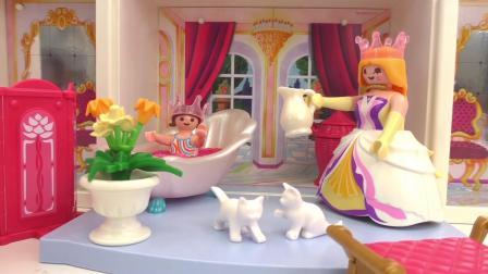 摩比游戏 电影 小雅不想洗澡 如果我是一个公主就好了
