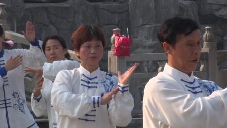 庆祝中华人民共和国成立70周年花拳绣腿太极拳展示——建成影视