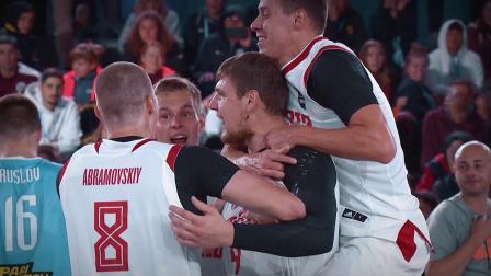 U23世界杯冠军俄罗斯男篮集锦