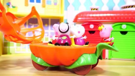 佩佩猪 小猪佩奇和朋友们的玩具合辑 Peppa Pig's Playset