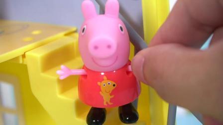 佩佩猪去上舞蹈课啦