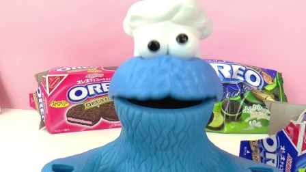 play doh 培乐多 饼干 怪兽 日本 双色 奥利奥 oreo 巧克力 奶油 原味 饼干 开箱 展示