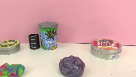 黏黏胶 化学 粘土 智能 彩泥 Alien Putty i-Clay Slime 史莱姆 Olchis Barrel 多种