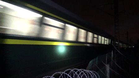 Z99次 HXD1D0116 通过沪昆线K234KM大园里特大桥