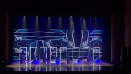 时空之门只创意年会发布会表演节目唯美浪漫大型舞台秀多人舞蹈互动视频秀