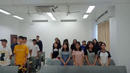 深圳职业技术学院汽车与交通学院18交通1班团支部——《歌唱祖国》