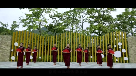 中国旗袍2019-莲洲镇旗袍舞蹈队演出合集