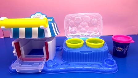 Play Doh 培乐多 儿童 彩泥 套装 Sweet Shoppe 甜点 小屋 自制 美味 甜品 蛋糕 糖果