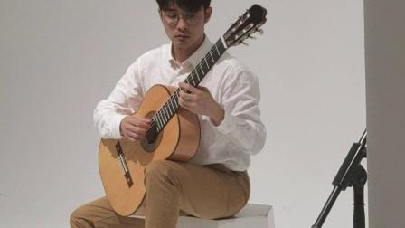 小蒋吉他 2019年上海蒙托亚吉他制作比赛表演赛现场 雀眼枫木托雷士吉他