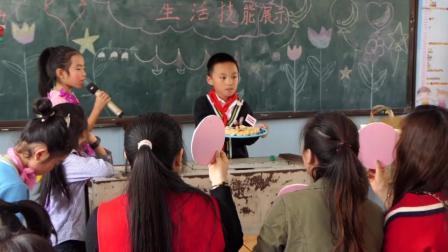 红河小学第七届生活节 三年级五班主题班会纪实