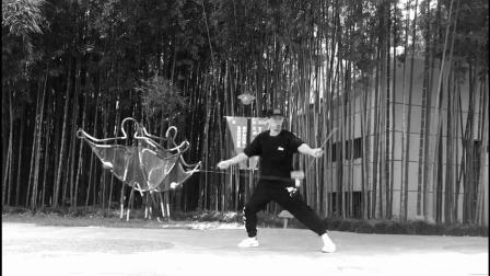 上海梦幻空竹俱乐部主席侠客老师经典《新编左右背炫》