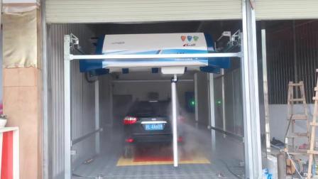 用户案例,镭豹360炫彩型洗车机在广西省百色市德保县亿丰汽车销售服务公司安装完成交付使用