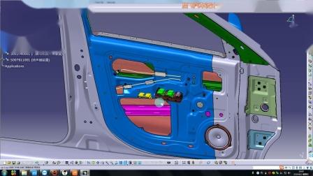 catia线束设计实例门线束仪表线束
