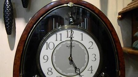 维修日本丽声钟表挂钟不走时