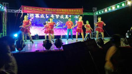 杨梅官地舞蹈队(大漠情人)
