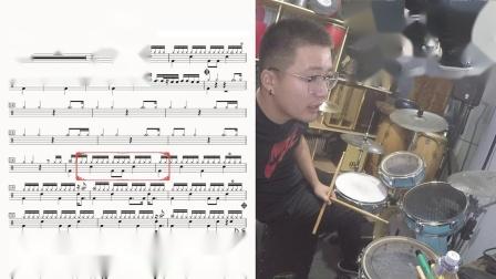04凯文先生《大地》BEYOND乐队架子鼓教学非洲鼓教学箱鼓教学