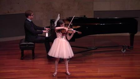 Ava Pakiam performs  Czardas
