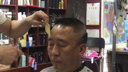 鸭舌帽发型修剪全过程