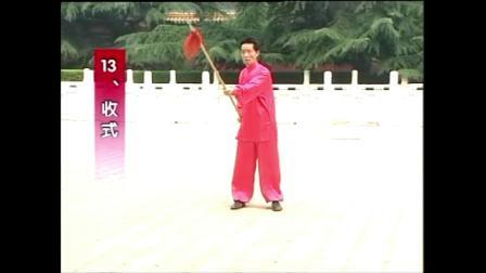 张勇涛杨式太极枪十三式