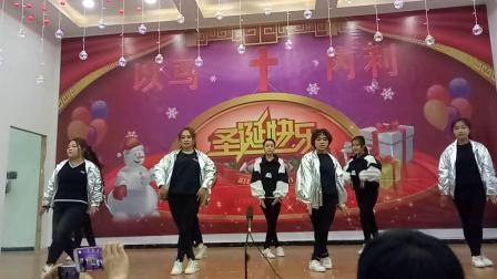 基督教圣诞节青年舞蹈超好看得释放
