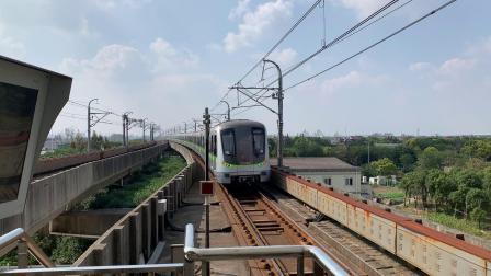 上海地铁2号线(绿灯侠289)远东大道徐泾东方向出站