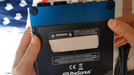 翻车了的声卡,Presonus Audiobox 96声卡简单上手测评