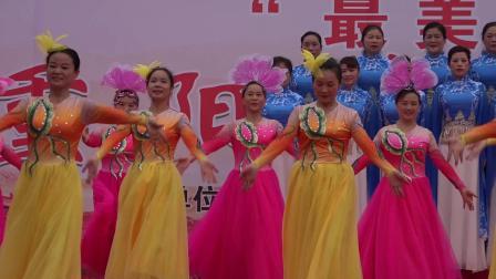 歌伴舞:《今天是你的生日》益阳市资阳区老年大学舞蹈队表演