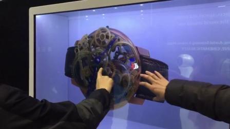 透明屏 3D动画 互动展示