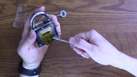 Best Trick Lock YET!! Two Keys. Two Keyholes. One solution!