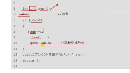 千锋物联网教程:84 goto语句