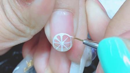 柠檬🍋还可以做在指甲上,短指甲妹子福利,小白看过来