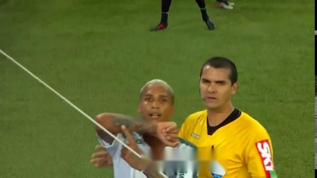 巴西全国甲级联赛第二十七轮巴拉纳竞技1:1帕尔梅拉斯